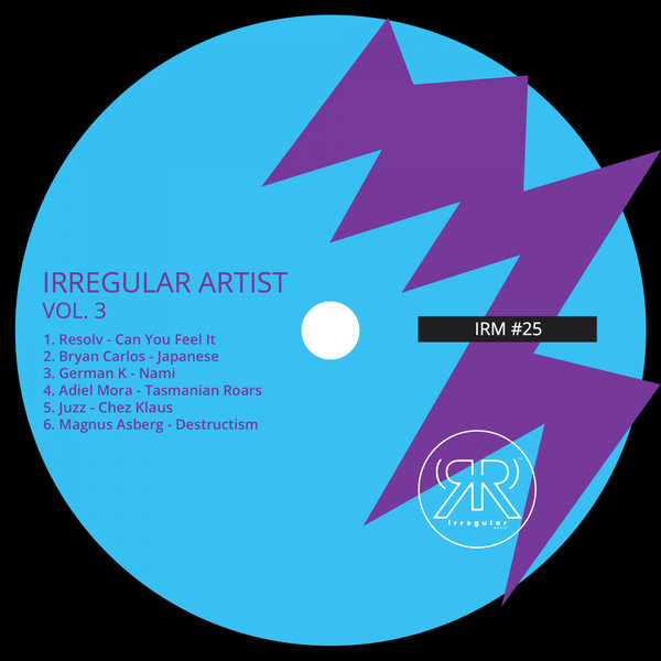 Compilation  Irregular Artist Vol. 3 release [Irregular Musik - IRM025] Minimal Deep Tech, include 06 electronic music cuts.