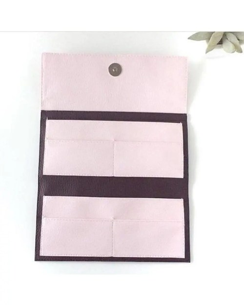 Pitti Vintage carteras de mujer de piel vegana pink - leather wallets for women