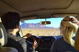 Driving our 4WD