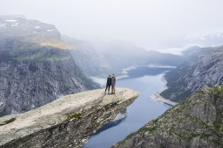 Early morning Trolltunga