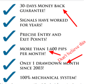 buy forex signals scam and lies