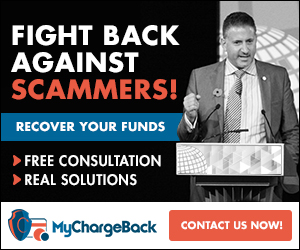 mychargeback report a scam