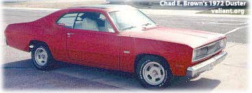 Chad Brown's 1972 Plymouth Duster