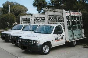 Glaziers trucks