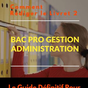 Livret 2 Bac Pro Gestion Administration VAE