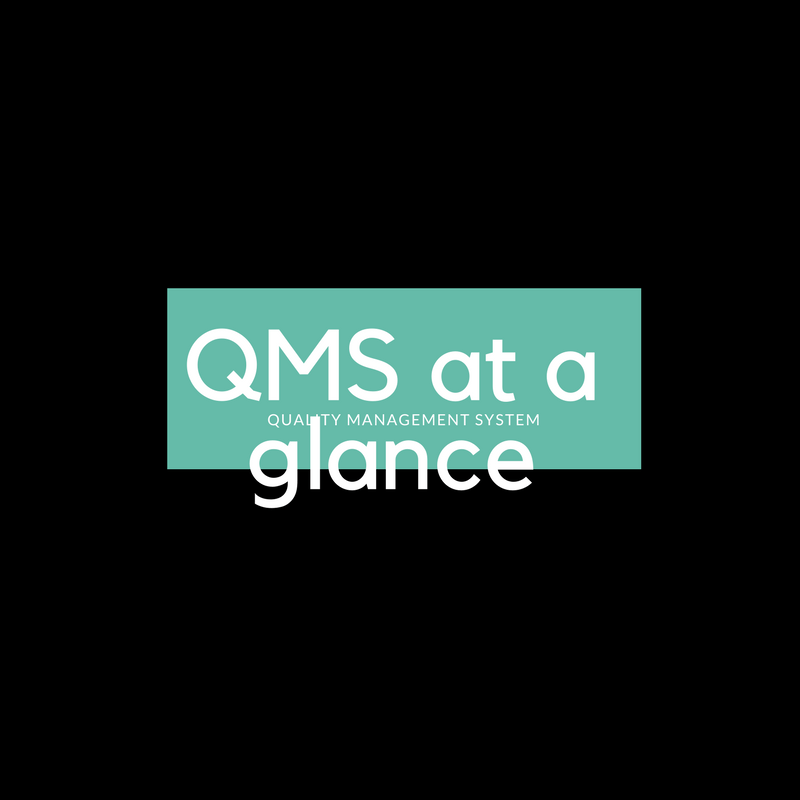 QMS at a glance