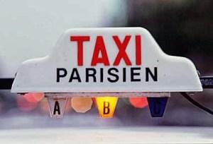 Taxi Paris Orly