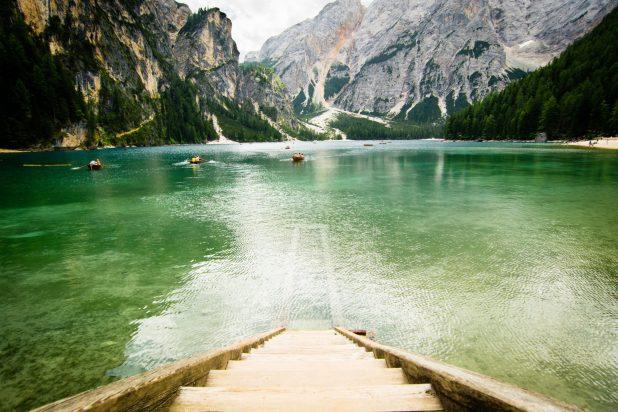 lago di braies mappa