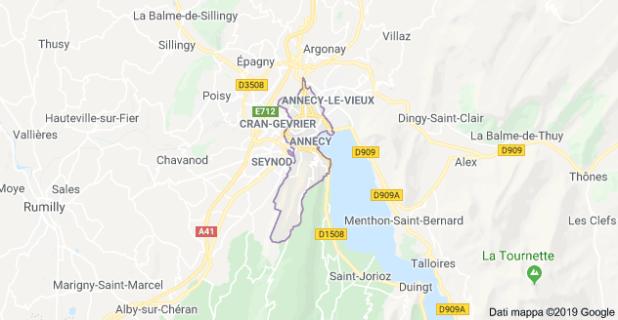 Annecy Mappa