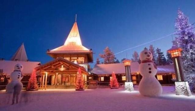 Villaggio Babbo Natale_Lapponia