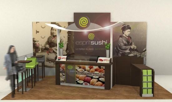 Étude Corner Sushi - VALIN