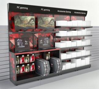 Mobilier pour produit Gaming (jeux vidéo sur ordinateur) - Conception et fabrication VALIN