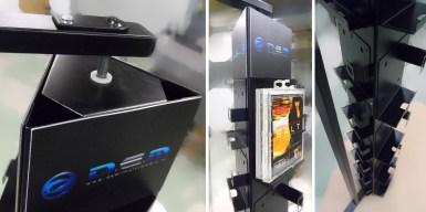 Tourniquet pour produits multimedia - Conception et fabrication VALIN