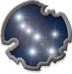 Logotipo Valinor: Escudo com Valacirca