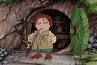 Bilbo Bolseiro, de O Hobbit em desenho animado