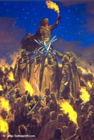Juramento de Fëanor, por Ted Nasmith