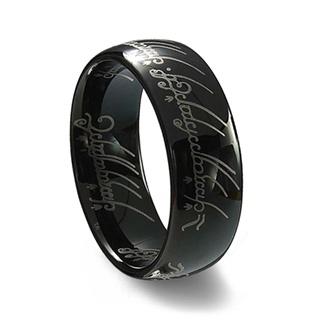 Loja Valinor – Um Anel negro, Nenya e Pendente da Arwen