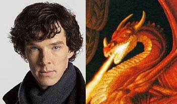 A Voz de Benedict Cumberbatch, o Smaug