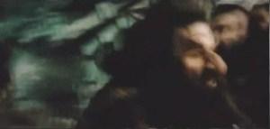 Peter Jackson como anão, em Erebor – Uma Jornada Inesperada