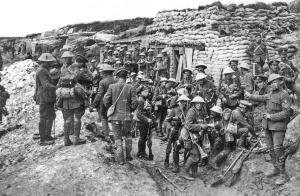 "Os ""tommys"" britânicos durante a I GM - 1916"