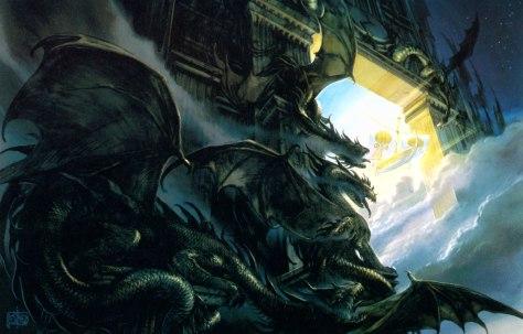 A Porta da Noite, por John Howe