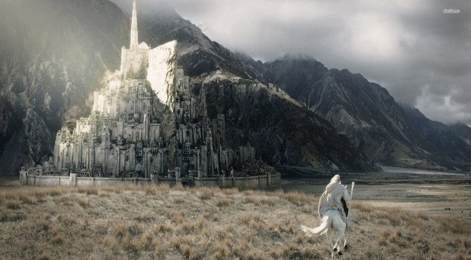 Britânicos querem construir Minas Tirith em tamanho real!