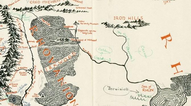 Mapa Anotado por Tolkien é Descoberto