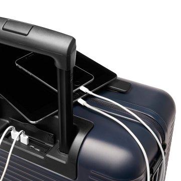 Une valise qui permet de charger son téléphone, vous en connaissez beaucoup ?