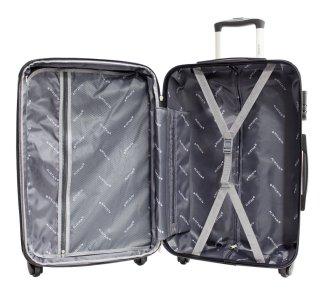 L'intérieure d'une valise Set de 3 Valises Alistair Fly