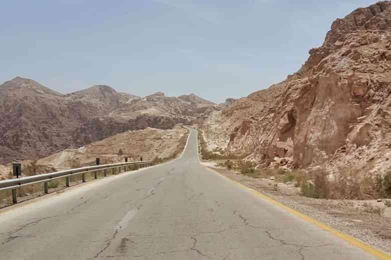 Jordan Itinerary - Road