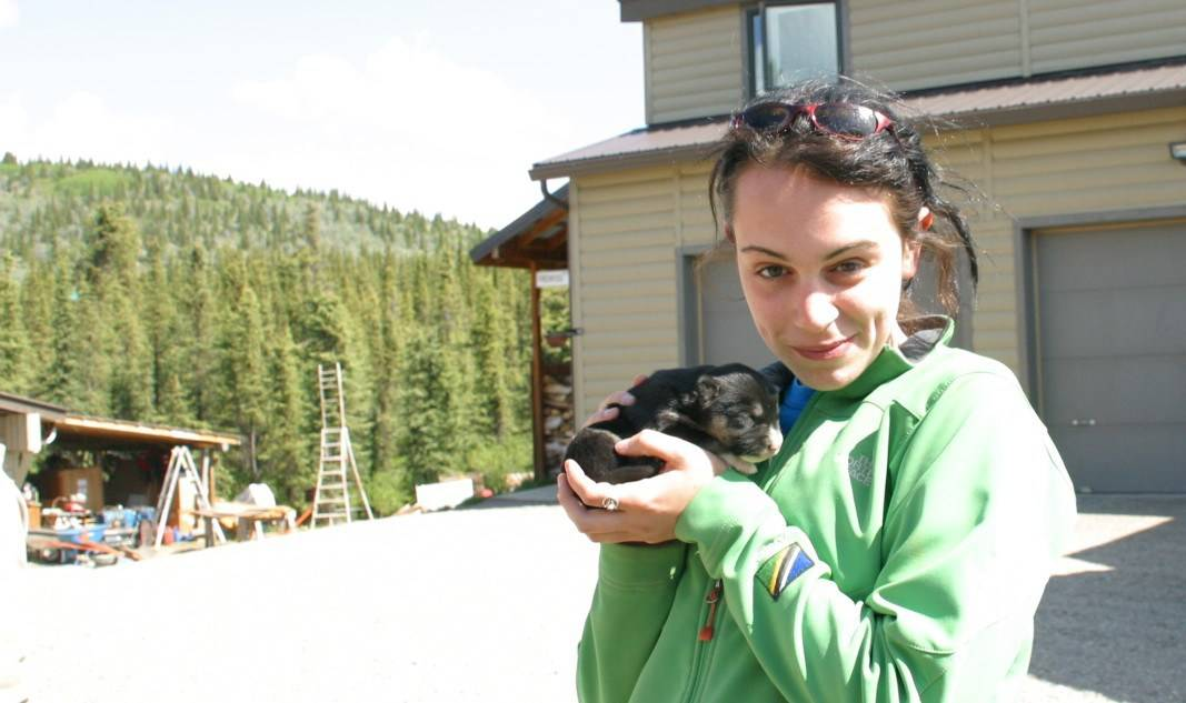 Alaska Excursions - Valerie at Husky Homestead