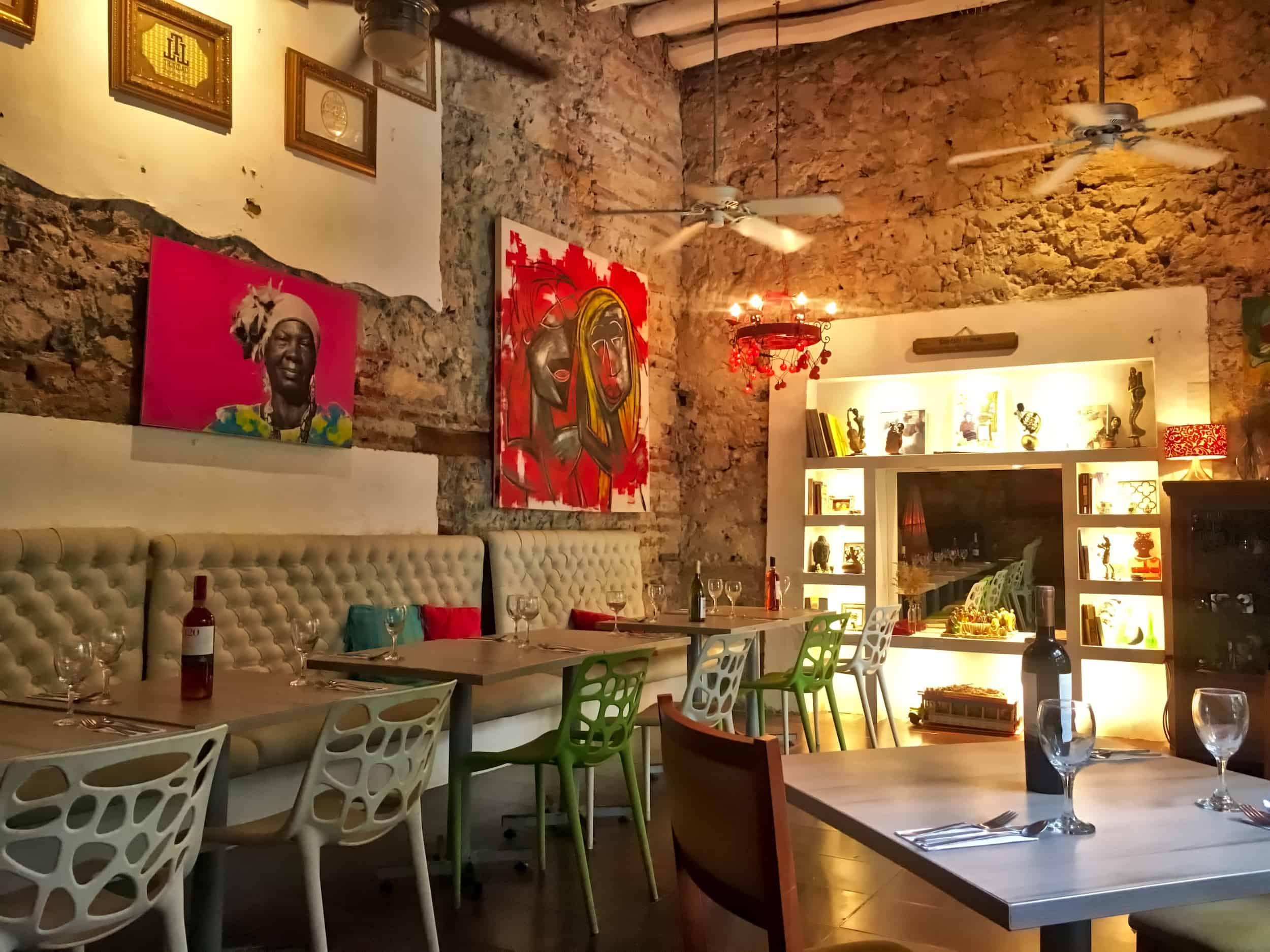 Lunch at El Pulpito, Cartagena