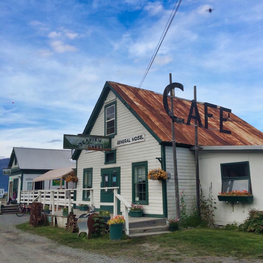 Seaview Cafe in Hope, Alaska