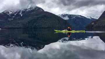 UnCruise Adventures Kayaking in Misty Fjords