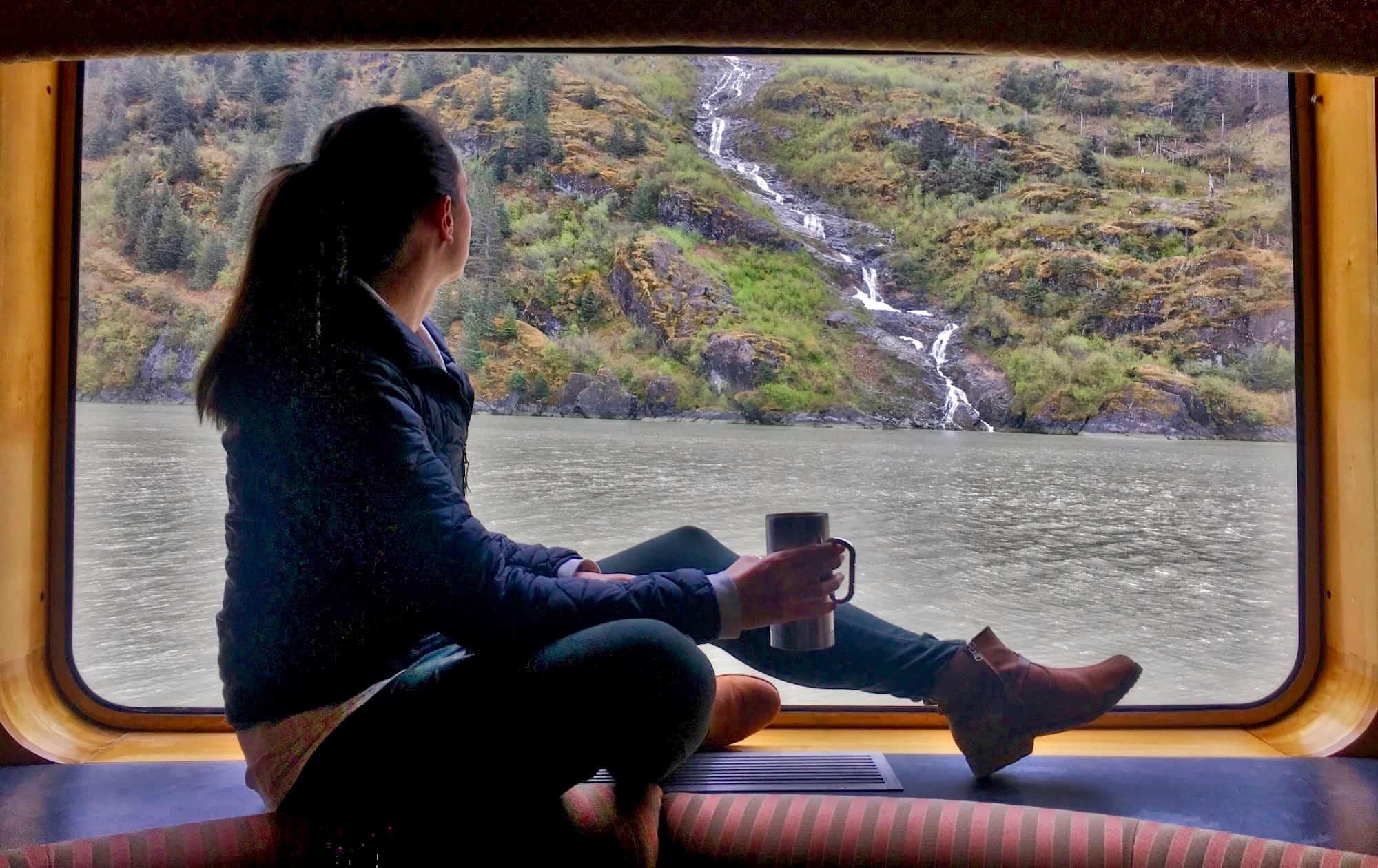 UnCruise Alaska Review - Valerie aboard UnCruise