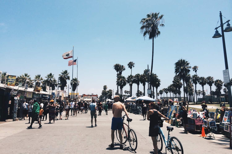 Los Angeles One Day Itinerary - Venice Beach