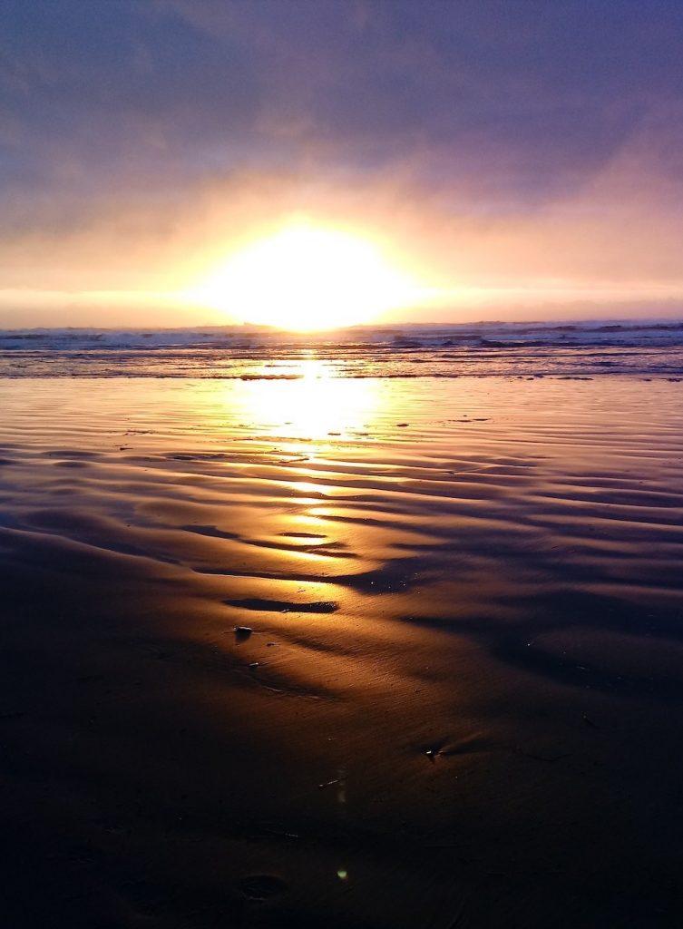 Washington Coast Road Trip - Ocean Shores Sunset