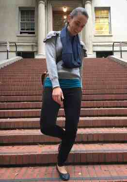 How to Wear the Versalette as a scarf