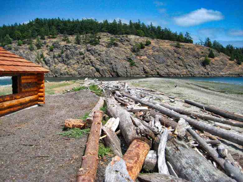 Visit the San Juan Islands - Spencer Spit on Lopez Island
