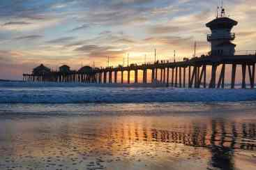 3 Days in Huntington Beach - Sunset