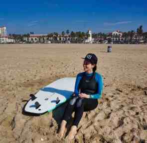 3 Days in Huntington Beach - Surfing