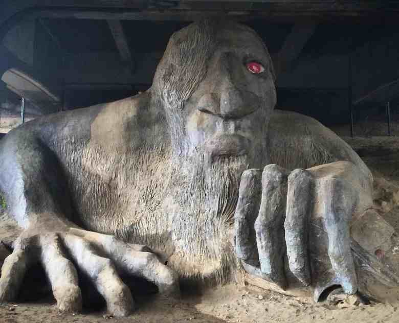 3 Days in Seattle - Fremont Troll