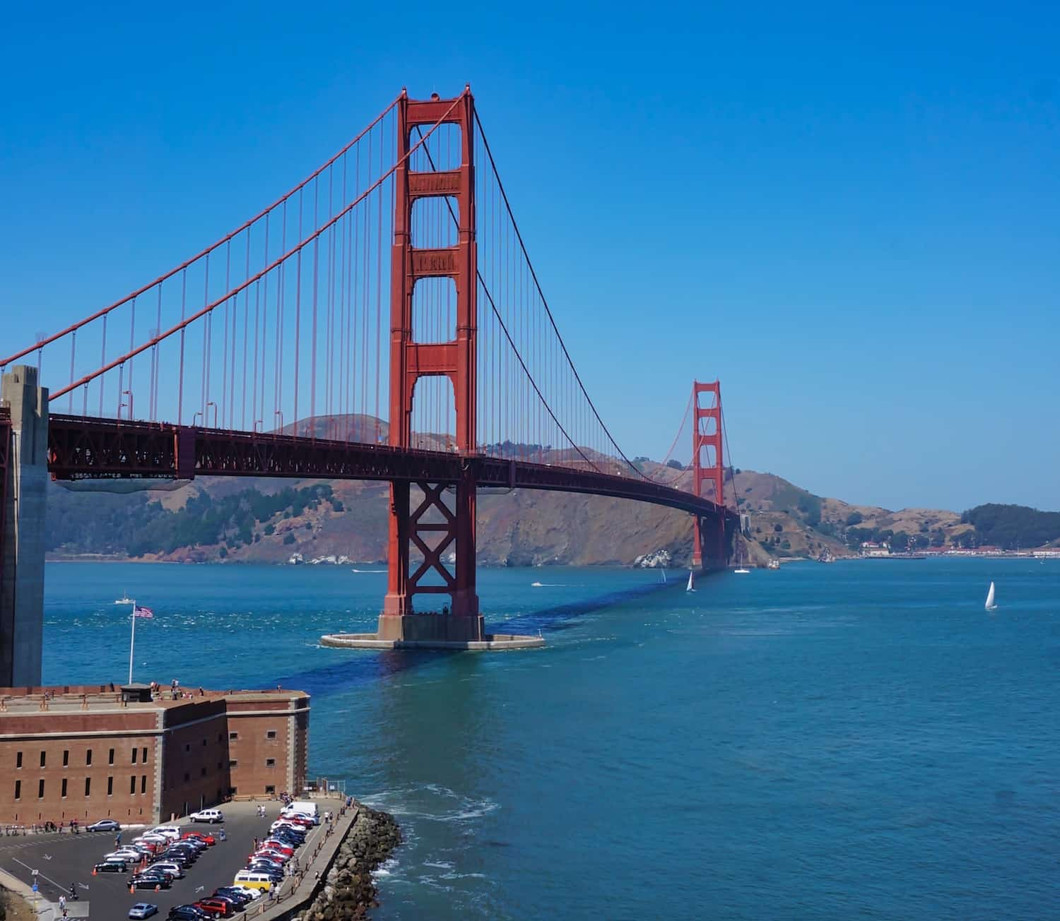 3 Days in San Francisco - Golden Gate Bridge