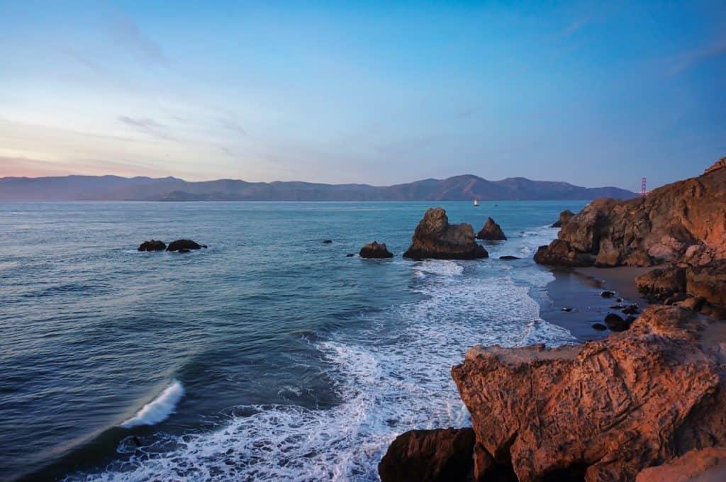 3 Days in San Francisco - Lands End