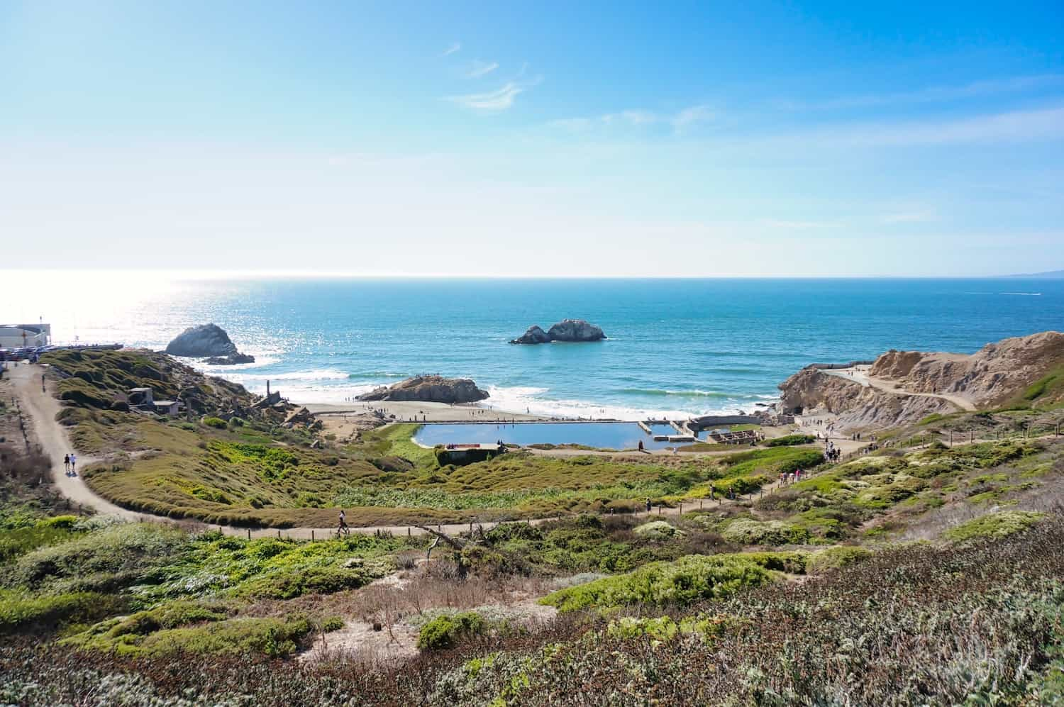 3 Days in San Francisco - Sutro Baths