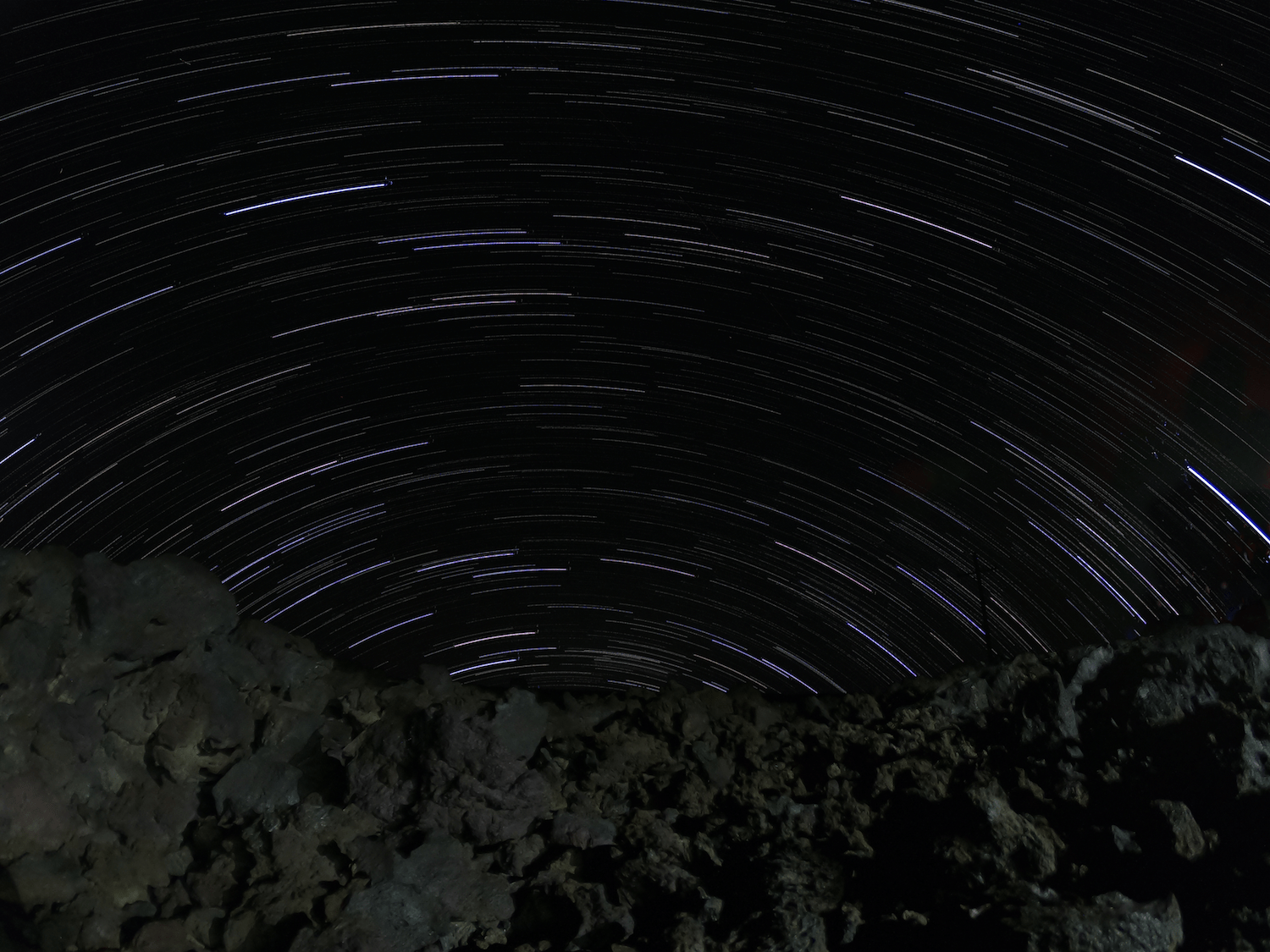 3 Days on Hawaii - Star Trail