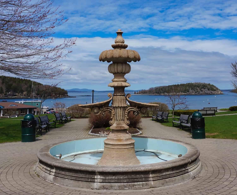 3 Days in Bar Harbor - Fountain