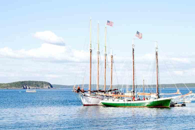 3 Days in Bar Harbor - Boating