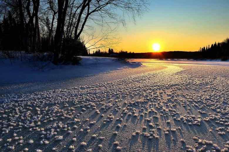 Alaska in Winter - Sunrise