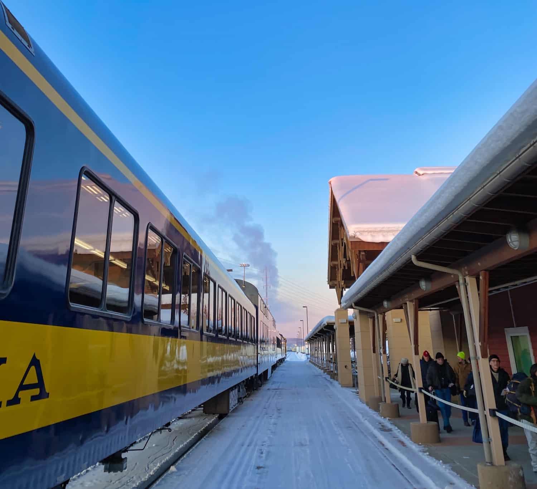 Alaska Aurora - Alaska Railroad